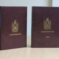 Charterhouse school and choir hymn books