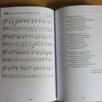 Gresham Books full music hymn book spread