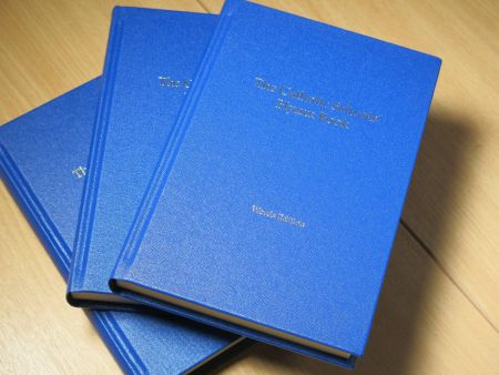 All three Catholic Schools' Hymn Books