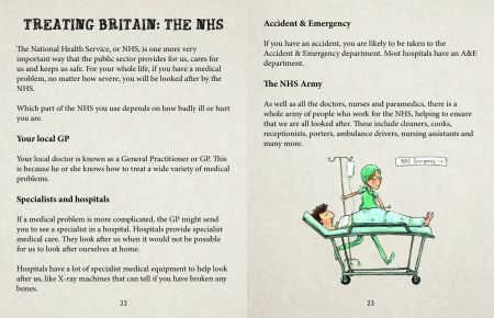 British Values Looking After Britain, Treating Britain: The NHS