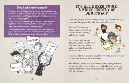 British Values Let's Vote On It! It's all Greek to me