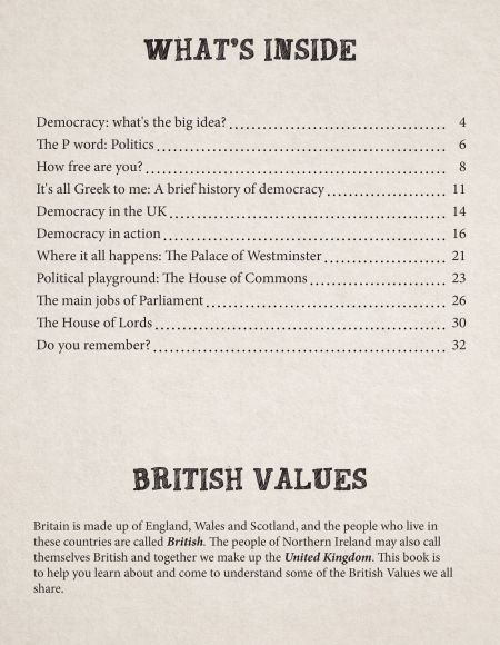 British Values Key Stage 2 Let's Vote on It! content page
