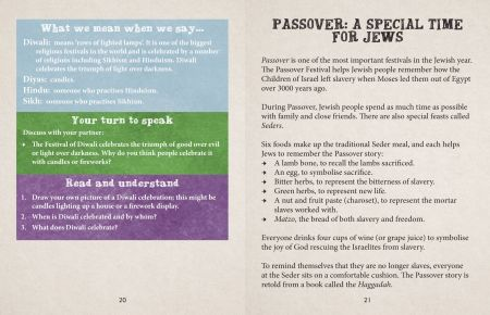 British Values Our Country, Our World Passover