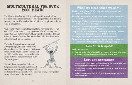 British Values Our Country, Our World KS2 book