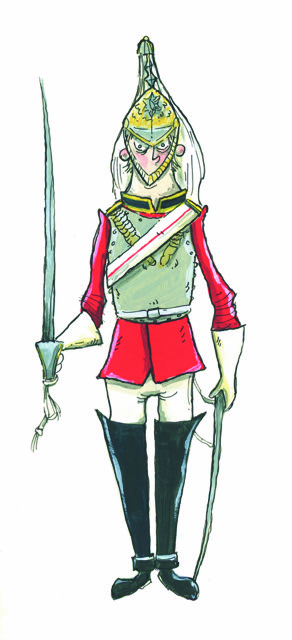 Household Cavalry Guardsman
