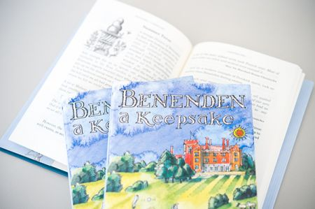 Benenden Keepsake cover and inside spread