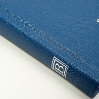 Benenden service book with logo on spine