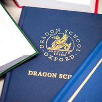 Dragon School bespoke hymn book