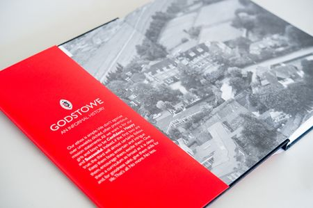 Godstowe School History inside cover