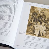 Godstowe School History inside spread with children image
