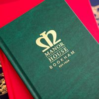 Manor House bespoke hymn book