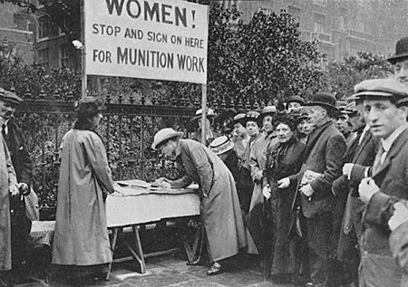 Women during World War 1