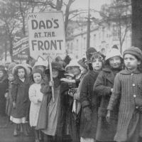 Never Again WW1 Children Recruiting