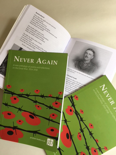 Never Again World War 1 poetry anthology