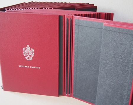 Shiplake College Choir Folder