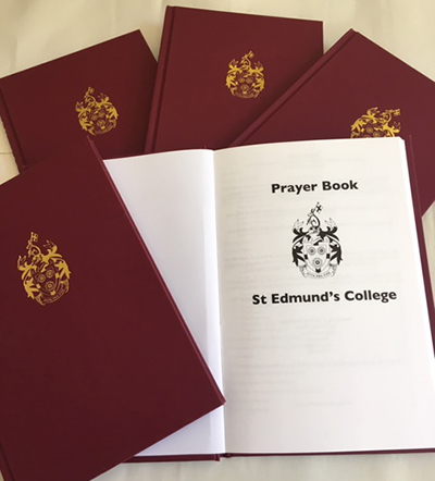 St Edmund's Prayer Book cover and endpapers