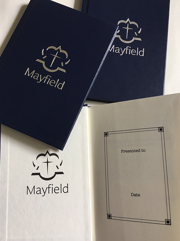 Mayfield Now & Forever Leavers' Book