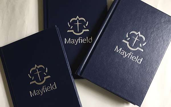 Mayfield School Now and Forever Leavers' Book cover