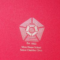 More House School Senior Chamber Choir Folder