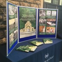 Royal High School Bath Marketing Boards on Table Stand