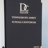 Dean Close Schola Cantorum Music Folder