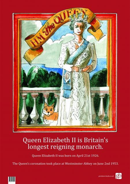HM The Queen Poster